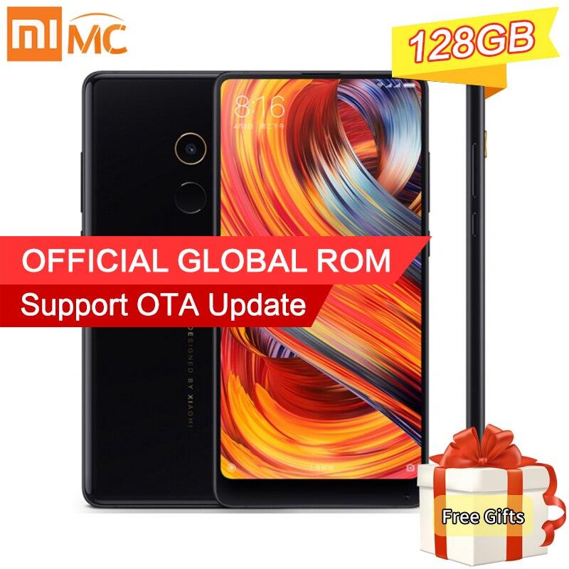 Original Xiaomi Mi Mix 2 Smartphone 6GB 128GB Snapdragon 835 Octa Core 5 99 2160x1080P FHD