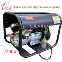 High Pressure Air Pump 220 V 2 2KW Double Cylinder Electric Air Pump High Pressure Paintball