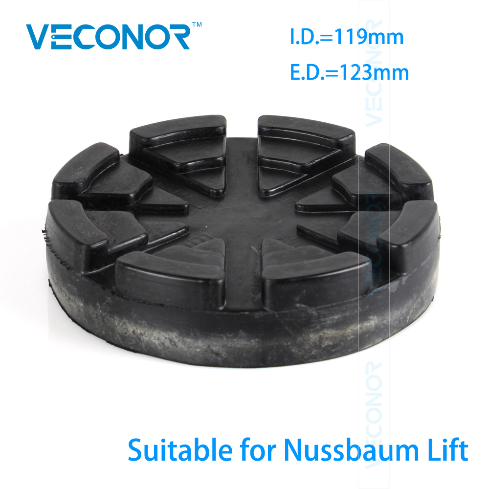 VECONOR Lifting Arm Rubber Pad For Nussbaum Car Lift Accessories Two Post Lift Spareparts Consumables