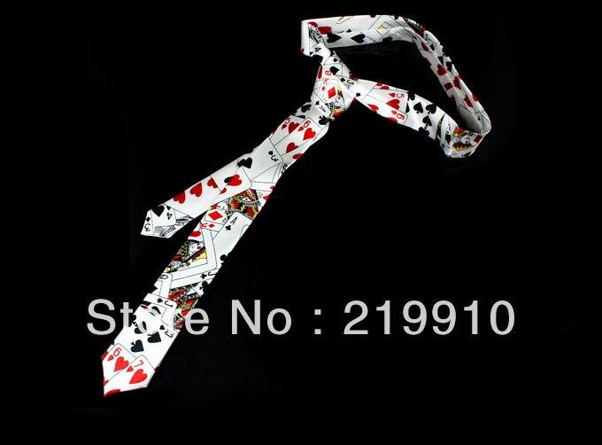2 шт./партия, галстук с рисунком для карт-Белый-волшебный трюк, забавная магия, вечерние волшебства