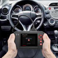 2019 Novo Creader VII + (CRP123) auto Leitor de Código de EOBD OBD2 Ferramenta De Varredura do Scanner Teste Motor/Transmissão/ABS/Airbag Sistema