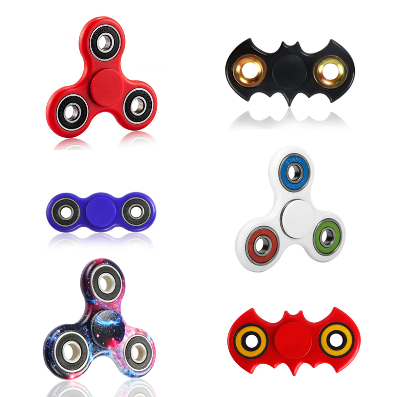 Tri-Spinner Fidget Toy Plastic EDC Batman Hand Spinner EDC Sensory Fidget Spinners Fidget Top Handspinner Figet Spiners Toys  50pcsnew pattern colorful hand tri spinner fidgets toy torqbar alloy edc sensory fidget spinners for autism and kids adult funny