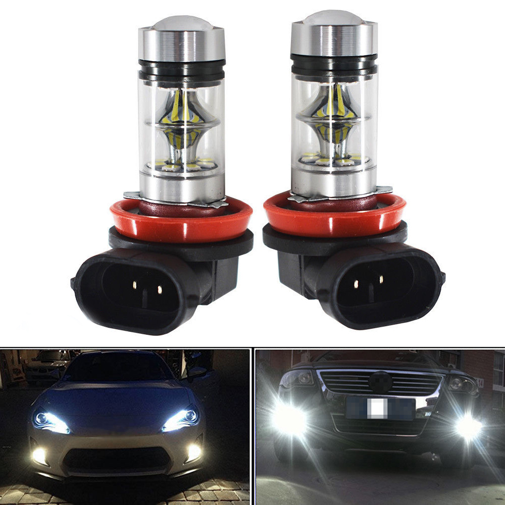1pc H8//H11 6000K White 5630 33SMD LED Car Driving Fog Light Headlight Bulbs