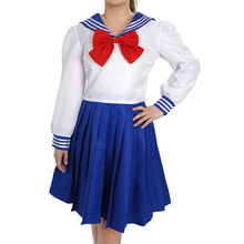 Calssic Anime Sailor Moon Tsukino Usagi Costumes Cosplay  Uniform college clothing Party European size