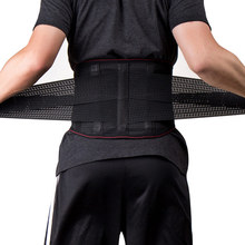 Men Women Waist Belt Back Lumbar Brace Support belts Elastic Corset Orthopedic Posture for the Correction Abdominal XXL CFR