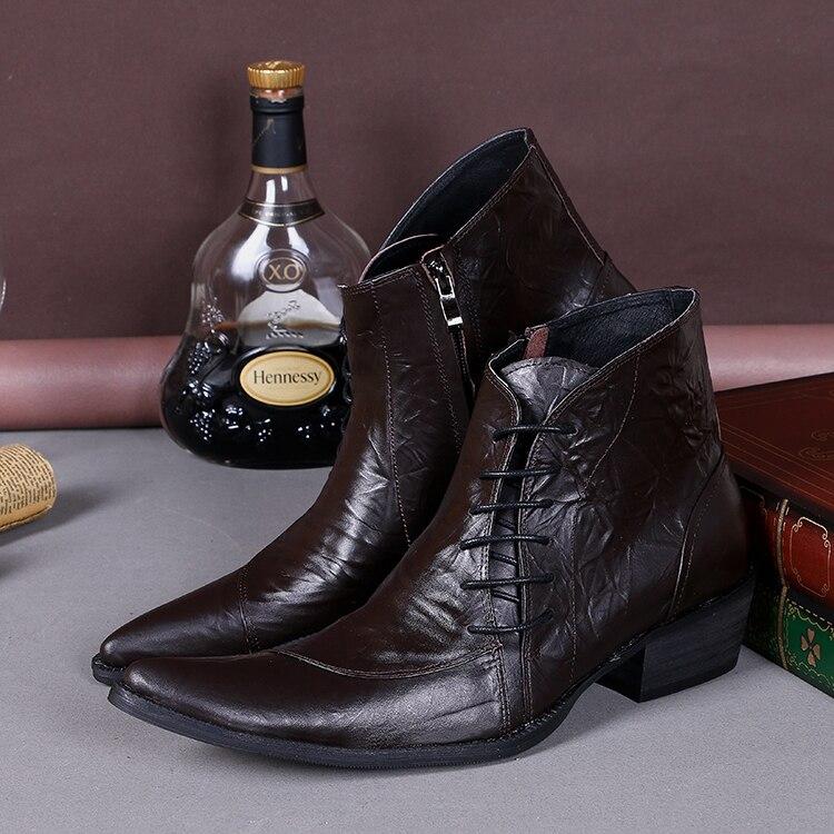 Popular Mens Dress Boots High Heels-Buy Cheap Mens Dress Boots ...