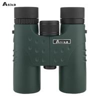 Asika Military HD 12x32 Binoculars Professional Hunting Telescope Zoom High Quality Vision Eyepiece Powerful Compact waterproof