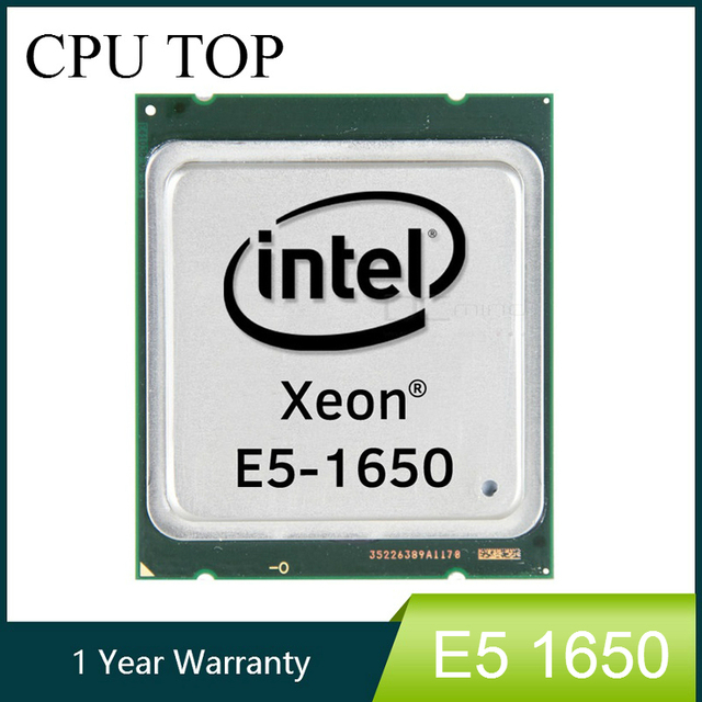 Intel Xeon E5 1650 SR0KZ 3.2GHz 6 Core 12Mb Cache Socket 2011 CPU Processor