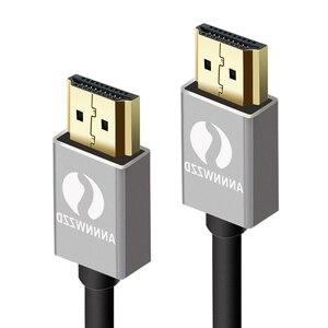 Image 2 - Câble HDMI professionnel 3D Full HD 1080p canal de retour Audio (ARC) 24k plaqué or