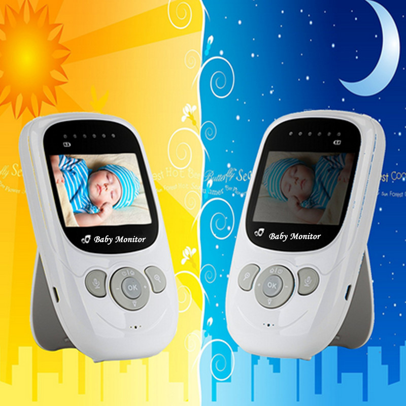 Baby Monitor Digital Wireless Security Baby Camera High Resolution Radio Nanny TFT LCD Audio Video Two-way Talk Night Vision