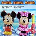 Playa del verano del envío CS Juego juguete de la historieta de Mickey Minnie ratón Nerf Pistola de Agua pistola de agua mochila Pistola de Aire inflables para niños