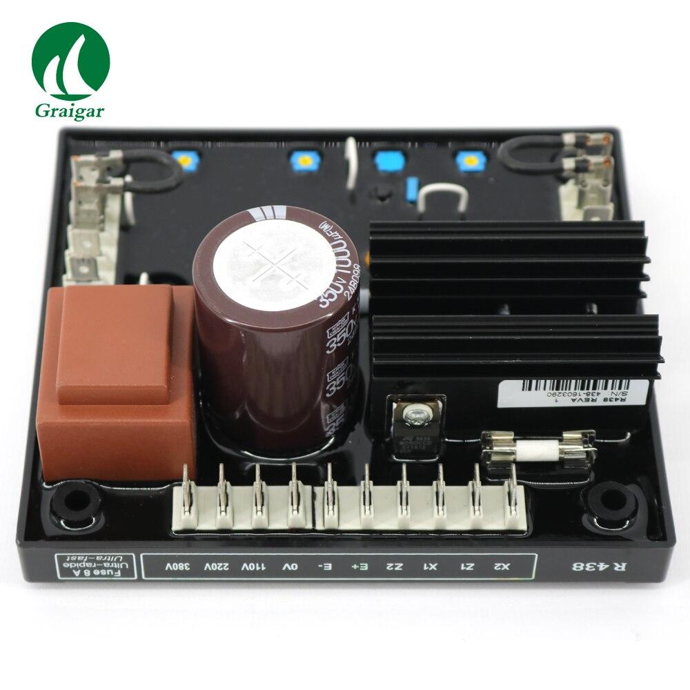 R438 générateur sans balais à courant alternatif AVR et mise en tension de démarrage progressif