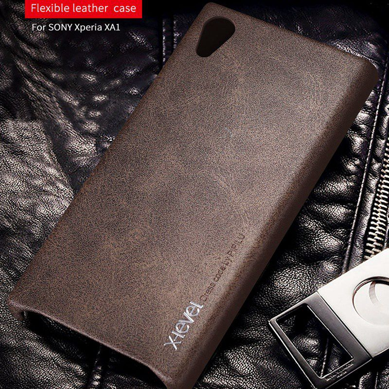 X-Level Case For Etui G3112 Xz Premium Sony Xa1 Luxury Leather Z5-Plus Xp-Cover