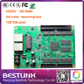 HUIDU led receiving card 128*256 pixel RGB LED video controller card hd-r500 for outdoor led advertising display led digital