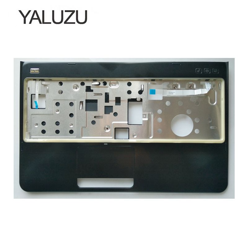 YALUZU new Palmrest cover C shell For Dell Inspiron 15R N5110 M5110 M511R series without Touchpad upper case keyboard bezel cooling fan for dell inspiron n5110 15r ins15rd m5110 m511r 15rd cpu fan brand new n5110 15r notebook cpu cooling fan cooler