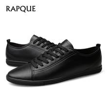 Mens Kasual Sepatu Kulit Asli brogue Tumit Datar Sepatu Pria Desainer Berjalan Mengemudi Sepatu Laki-laki Sepatu Mewah 20188 RAPQUE