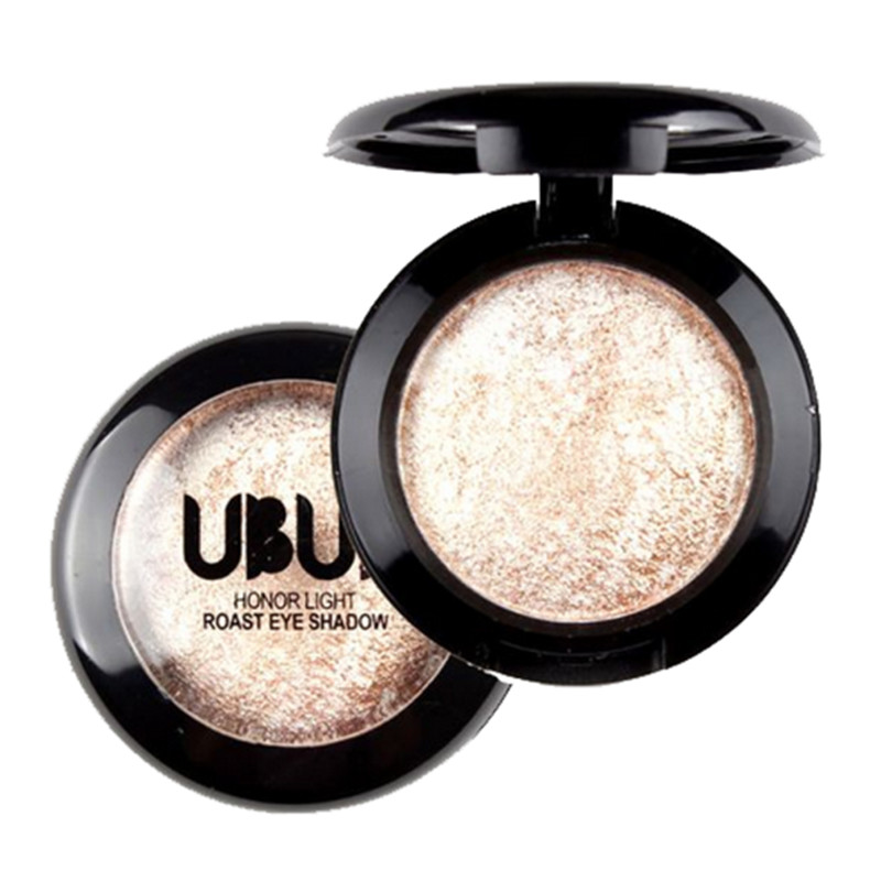 UBUB Brand Single Baked Eye Shadow Powder Palette Shimmer Metallic Eyeshadow Palette Lon ...