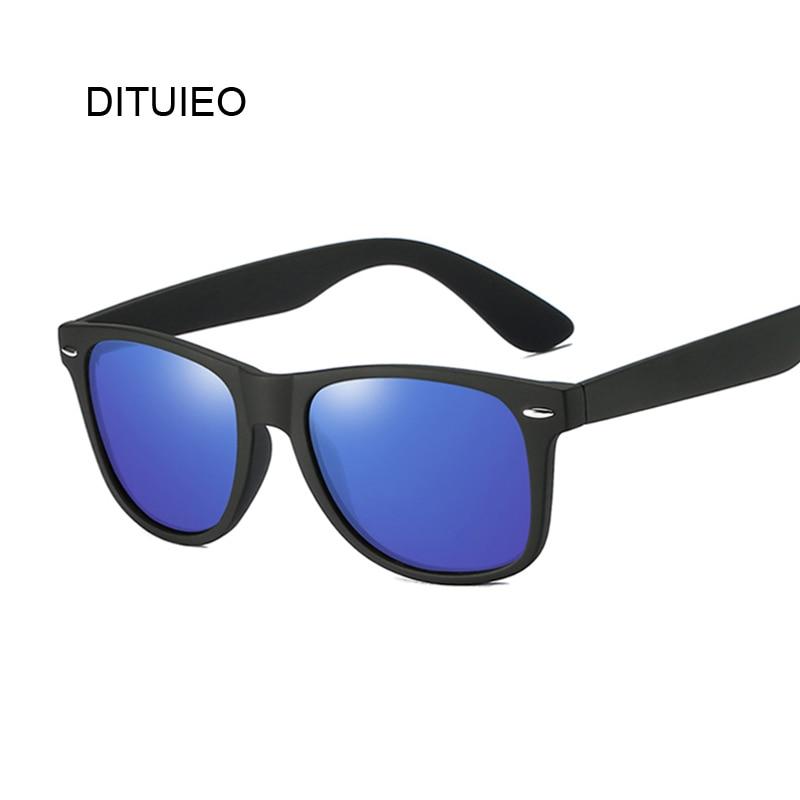 Gafas de sol de alta calidad, gafas de sol polarizadas para hombre, espejos de conducción, gafas con montura negra de recubrimiento, gafas de sol para hombre UV400