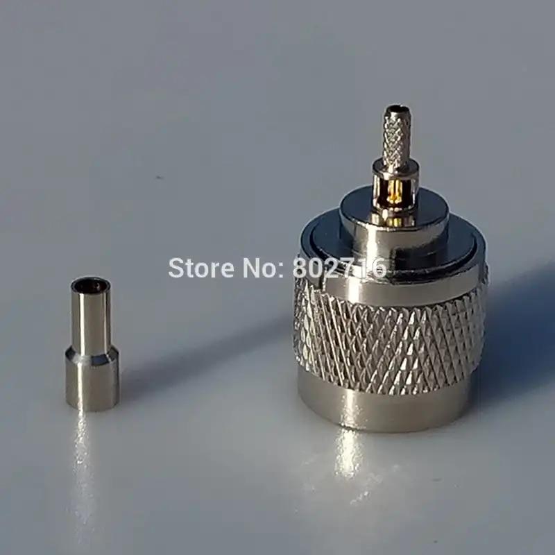 1 adet N erkek CRC9 düz erkek fiş konnektörü dik açı pigtail kablo RG316 3G HUAWEI USB modem 30/50/100cm