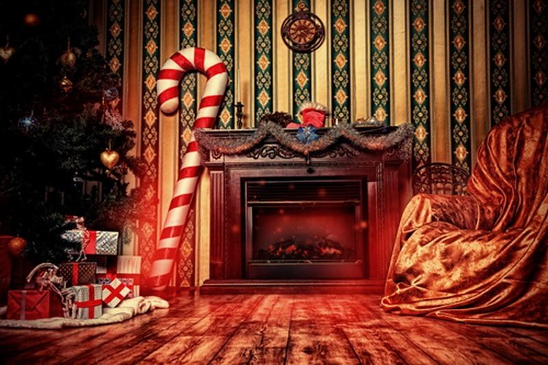 Christmas celebration photography backdrop for studio ...