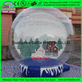 GuangZhou good quality inflatable snow globes,inflatable photo booth,christmas photo snow globes for sale