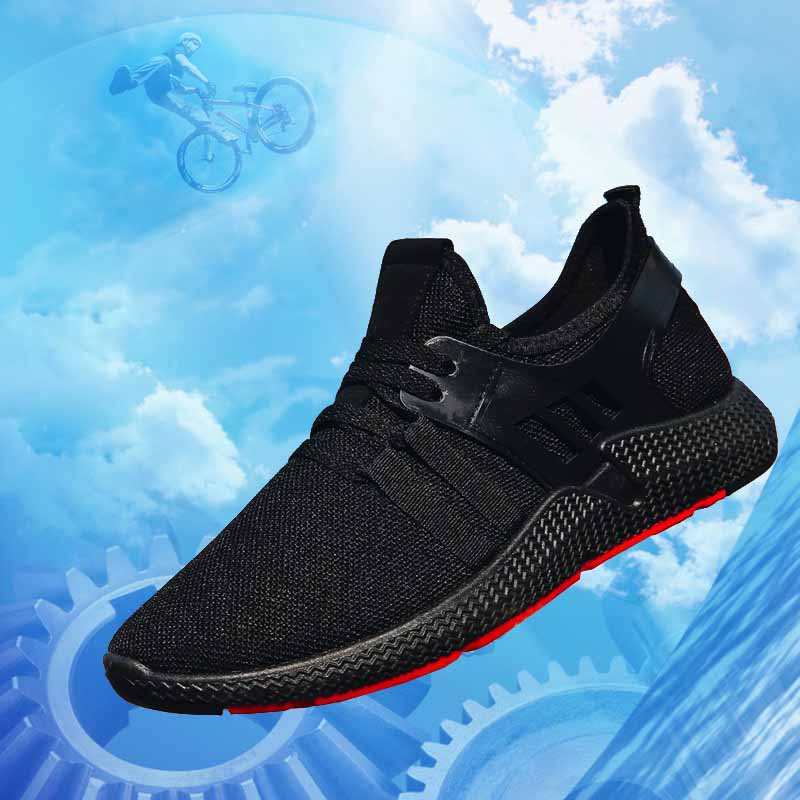 Men 39 s casual shoes spring and autumn breathable sneakers men 39 s air cushion mesh sports shoes trend sports shoes in Men 39 s Casual Shoes from Shoes