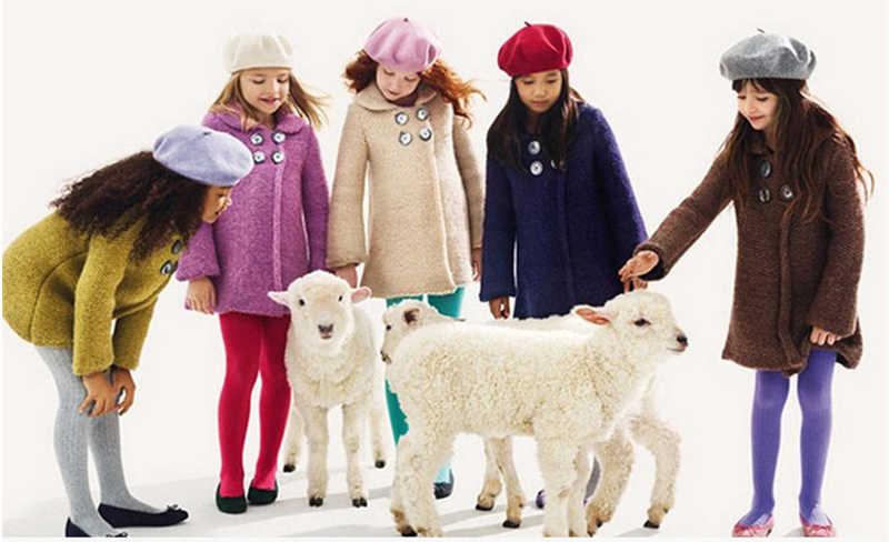 2018 г. Детские шерстяные береты детские шапки на весну, осень, зиму Новая модная кепка для мальчиков и девочек, детская шапка с рисунком, французская Кепка