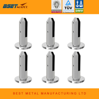 6 Pieces Lot Glass Spigot Duplex Stainless Steel 2205 Glass Pool Fencing Spigot For Swimming Pool