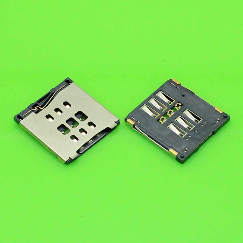 ChengHaoRan 1 Piece new sim card socket cho iphone 6 6 cộng với card reader tray chủ khe connector. KA-175