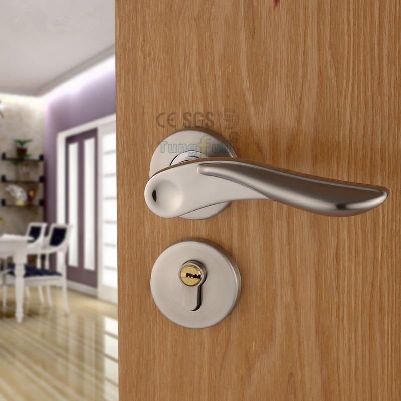 Lanxstar House Interior Door Handle Lock Anti Theft Door Lock Mute