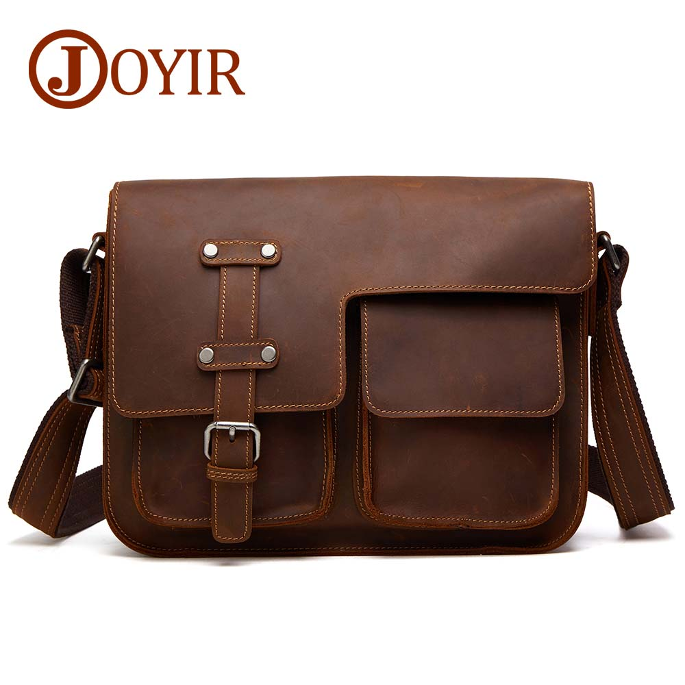 Men/'s New Genuine Leather Brown Vintage Shoulder Satchel Messenger Bag