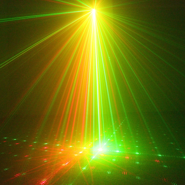 Chims DJ Laser 3 Lens 8 Pattern Club RG Laser BLUE LED Stage Lighting Home Music Party Professional Projector Light Disco L08RG the latest 2lens 40 pattern laser light for dj disco club party stage lighting effect page 2
