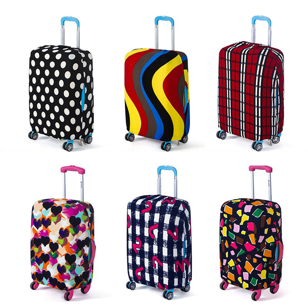 Travel Accessories Luggage Cover Luggage Protector Suitcase Protective Cover For Trolley Case Trunk Case Apply To 22-26 Inch