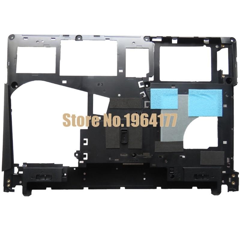 Nueva cubierta inferior de la caja de la base del ordenador portátil para Lenovo para Ideapad Y400 Y410P Y410 Negro AP0RQ00070 90201978 Portátil Reemplace la cubierta