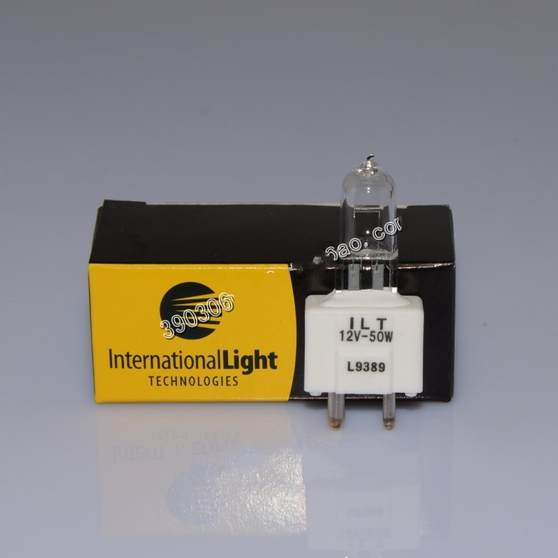 free shipping biochemistry analyzer bulb L9389 12V 50W GY9.5 for BS200 BS300 BS400 BS500 mindray l9389 12v 50w bs 200 bs 300 bs 400 bs200 300 400 chemistry analyzer bulb