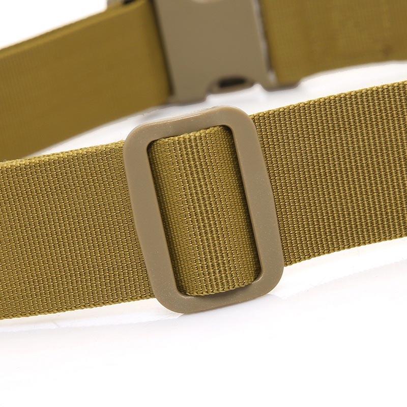 3a642f1d US $3.03 22% OFF Wojskowy Pas Spodni Army Tactical Nylon Parciany Klamry  Pasek na Zewnątrz Camping YS BUY w Wojskowy Pas Spodni Army Tactical Nylon  ...