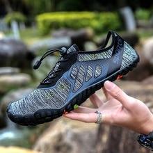 TIOSEBON Size 36-46 Upstream Shoes Men Barefoot Outdoor Beach Folding Breathable Anti-Slip Quick Dry Comfortable