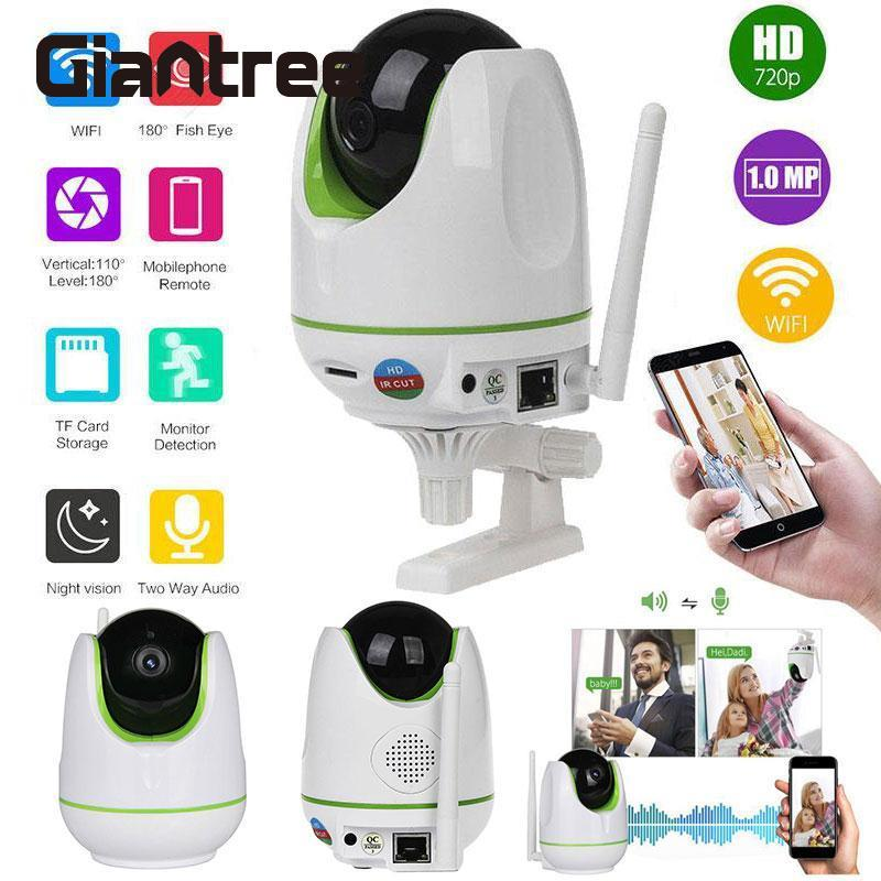 Giantree Wireless CCTV WiFi HD 720P Onvif Home Security Network Megapixel Surveillance IP Camera Night Vision Baby Monitor hd 720p ip camera onvif black indoor dome webcam cctv infrared night vision security network smart home 1mp video surveillance