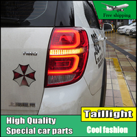 Car Styling tail lights For Chevrolet Captiva 2008 2016 taillights LED Tail Lamp rear trunk lamp DRL+signal+brake+reverse Light