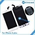 + + + Нет dead pixel Оригинал Стекло Сенсорного Экрана Планшета & Замена ЖК-Тяга Для iPhone 6 Plus & Бесплатные DHL 10 шт.