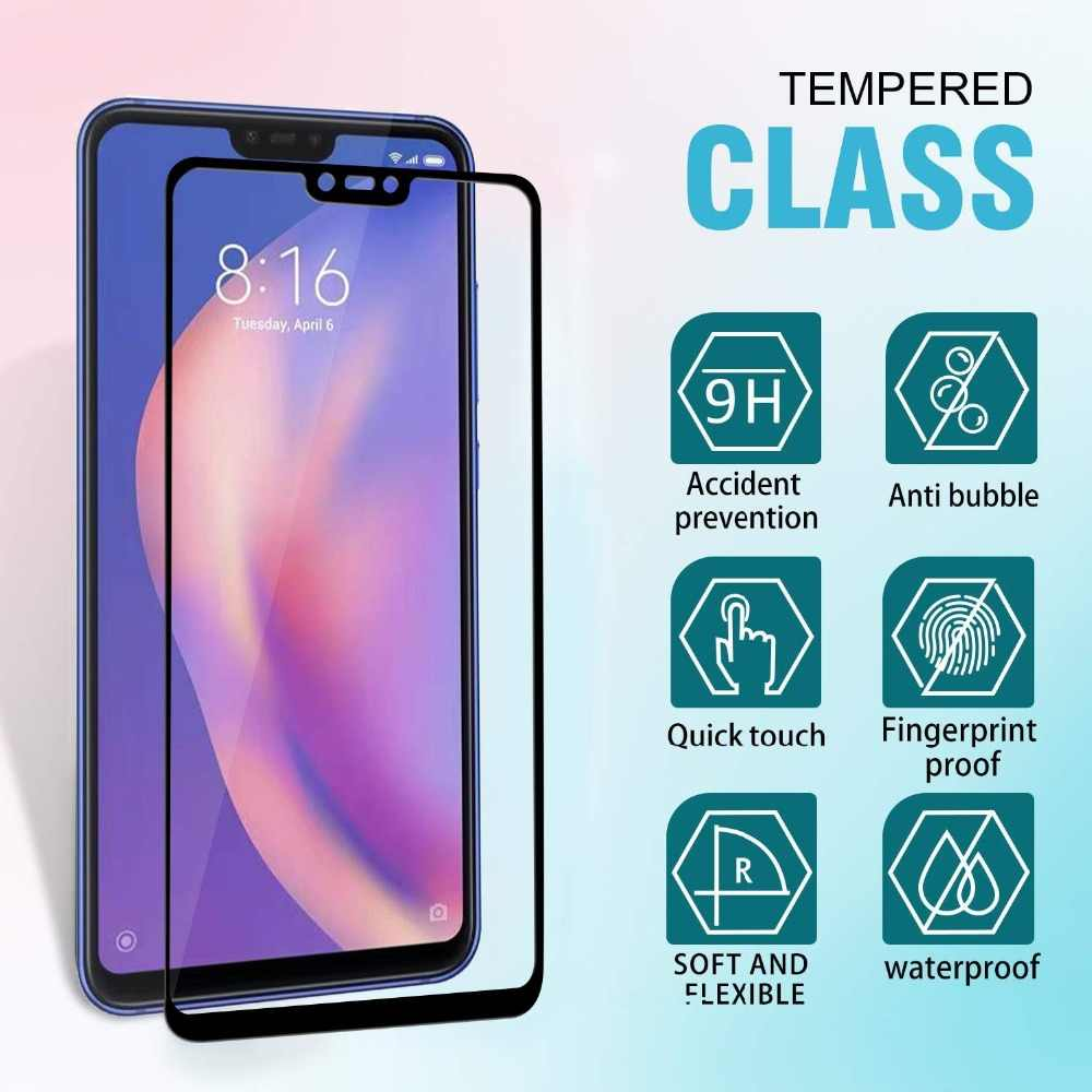 19D от края до края безосколочное закаленное стекло на для Xiaomi mi 5x 6X A1 A2 Lite Экран пленка на весь экран для спортивной камеры Xiao mi 8 9 9SE