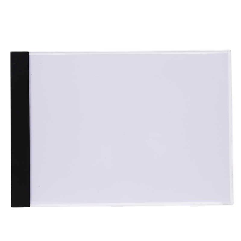 Grafica digitale Tablet A4 LED Artista Sottile Art Stencil Disegno Bordo Light Box Tracing di Scrittura Elettronica Portatile Tablet Pad