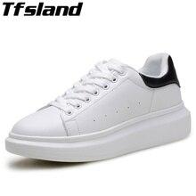 Дышащие белые туфли на танкетке, визуально увеличивающие рост; мужские кроссовки на платформе; женская обувь; zapatos de mujer; женская обувь для скейтбординга