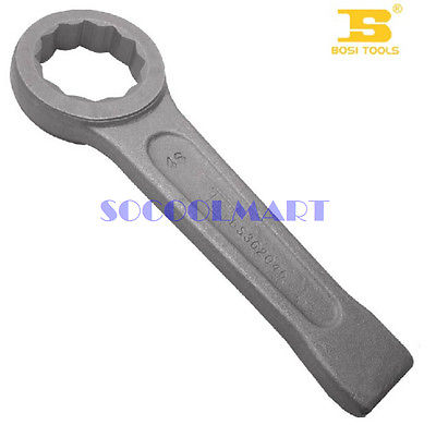 1Pcs 60mm Pulm Ring Slogging Wrench Chrome Vanadium Steel Gray Color xkai 14pcs 6 19mm ratchet spanner combination wrench a set of keys ratchet skate tool ratchet handle chrome vanadium