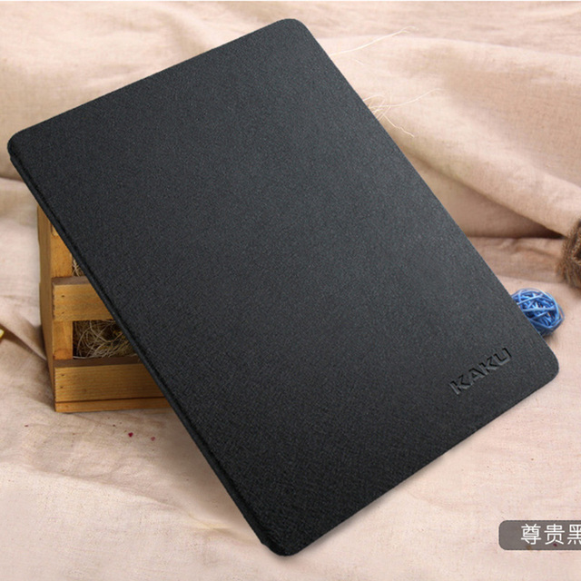 """Smart Auto Sleep Wake Transparent Clear Silk Leather Case For iPad pro 9.7"""" Stand Function Protective Cover For iPad pro 12.9"""""""
