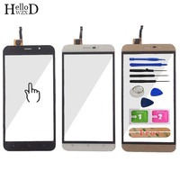 5.5'' Mobile Phone Touch Panel For Cubot Dinosaur Touch Screen Glass Digitizer Panel Front Glass Lens Sensor Tools Free Adhesive