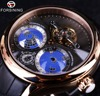 Forsining 2016 Earth Real Tourbillion Multi Dimensional Designer Mens Watches Top Brand Luxury Fashion Casual Automatic