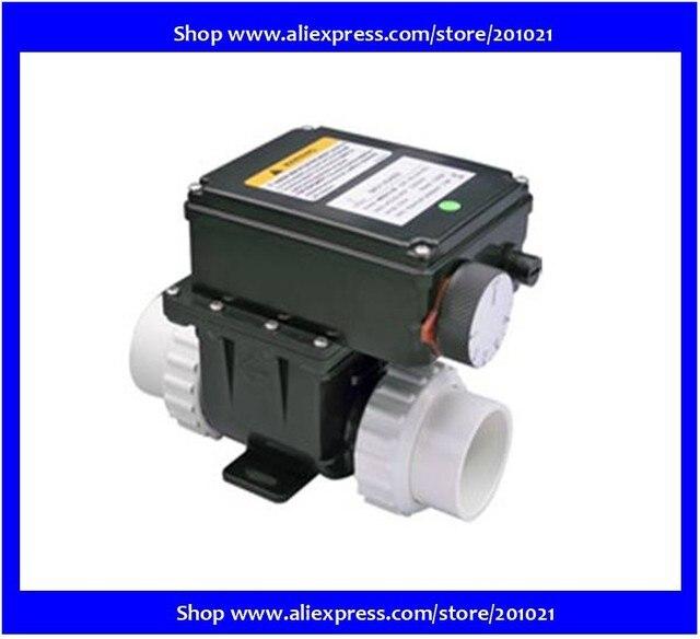 Calentador de 120V o 230V H20 RS1 2kw con termostato ajustable para bañera y calentador, control de termostato chino de 2KW