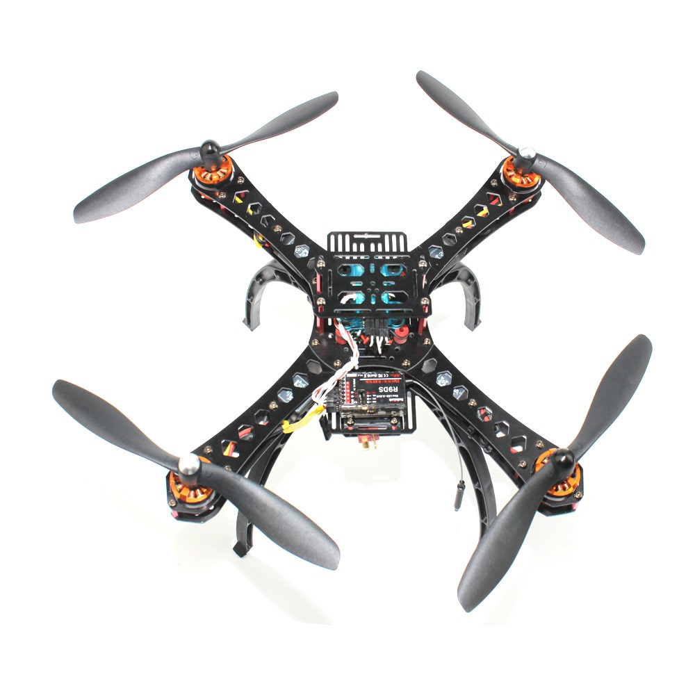 F14891-H Full DIY Mini Racing Drone Racer 310 Fiberglass Frame Multicopter MICRO F3 Flight Controller AT9S FS-i6 Transmitter