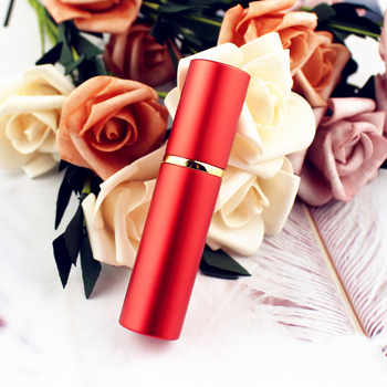 10ML Top Quality Metal Perfume Bottle Travel Refillable Mini Perfume Atomizer Glass Spray Bottle Vials 100pcs/lot